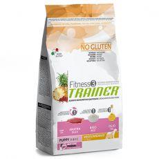 TRAINER Fitness 3 Puppy Medium / Maxi Duck & Rice 12,5 kg