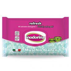 Inodorina törlőkendő pézsma 40 pcs