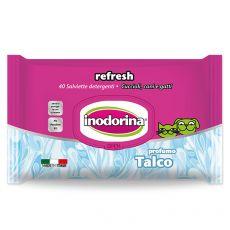 Inodorina Talc  törlőkendő 40 db