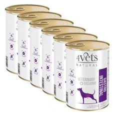 4Vets Natural Veterinary Exclusive GASTRO INTESTINAL 6 x 400 g