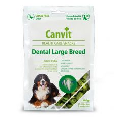 Canvit Health Care Dental Large Breed Snack 250 g