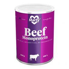 MARTY Beef Monoprotein konzerv 400 g