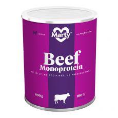 MARTY Beef Monoprotein konzerv 800 g