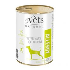4Vets Natural Veterinary Exclusive ALLERGY 400 g