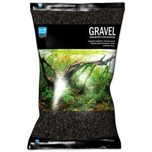 Aqua Exellent táptalaj fekete 4-8 mm, 8kg