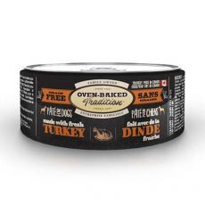 Oven-Baked Tradition Pate TURKEY dog konzerv 156 g