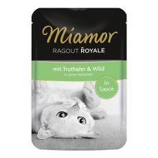 MIAMOR Ragout Royal pulyka és vad szószban 100 g