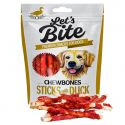 Let's Bite Chewbones Sticks with Duck 300 g