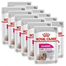 Royal Canin Exigent Dog Loaf alutasakos pástétom válogatós kistermetű kutyák számára 12 x 85 g