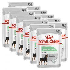 Royal Canin Digestive Care Dog Loaf alutasakos pástétom érzékeny emésztőrendszerű kutyák számára 12 x 85 g