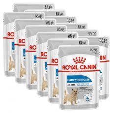 Royal Canin Light Weight Care Dog Loaf alutasakos diétás pástétom kutyák számára 12 x 85 g