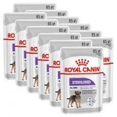 Royal Canin Sterilised Dog Loaf alutasakos pástétom ivartalanított kutyák számára 12 x 85 g