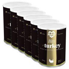MARTY Signature Bits of Turkey konzerv 6 x 400 g