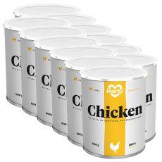 MARTY Essential Chicken konzerv 12 x 800 g