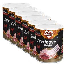 MARTY Deluxe Venison feast vadhúsos konzerv 6 x 800 g