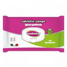 Inodorina törlőkendő a mancsok tisztítására 40 db