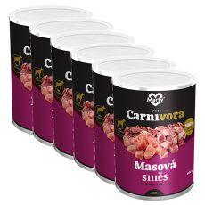 MARTY ProCarnivora Meat cocktail - húskoktél konzerv 6 x 400 g