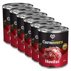 MARTY ProCarnivora Beef - marha konzerv 6 x 800 g