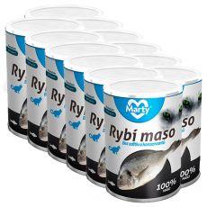 MARTY Premium Fish konzerv macskáknak 12 x 400 g
