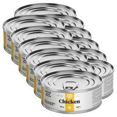 MARTY Essential Chicken konzerv macskáknak 12 x 100 g