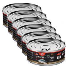 MARTY Deluxe Minced Salmon konzerv macskáknak 6 x 100 g