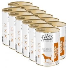 4Vets Natural Veterinary Exclusive WEIGHT REDUCTION 12 x 400 g
