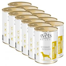 4Vets Natural Veterinary Exclusive URINARY SUPPORT 12 x 400 g