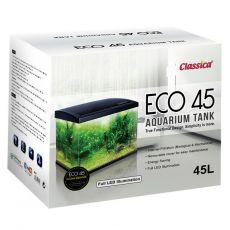 CLASSICA ECO 45 akvárium LED világítással - fekete, 45 L