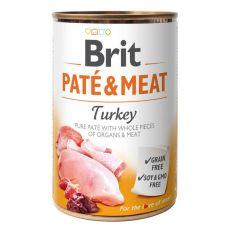 Brit Paté & Meat Turkey konzerv 400 g