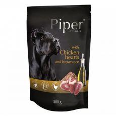 Piper Adult alutasakos eledel csirkeszívvel és barna rizzsel 500 g