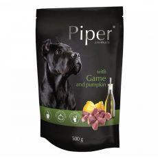 Piper Adult alutasakos eledel vadhússal és sütőtökkel 500 g
