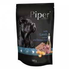 Piper Adult alutasakos eledel bárányhússal, sárgarépával és barna rizzsel 500 g
