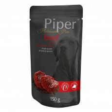 Piper Platinum Pure alutasakos eledel  marhahús és barna rizs 150 g