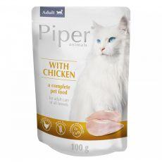Piper Cat Adult alutasakos eledel csirkehússal 100 g