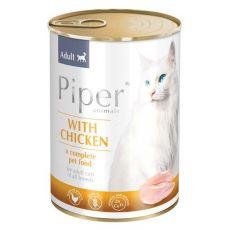 Piper Cat Adult macskakonzerv csirkehússal 400 g