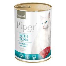 Piper Cat Sterilised macskakonzerv tonhallal 400 g