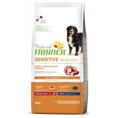 TRAINER Natural SENSITIVE No Gluten Adult Medium / Maxi Duck 12 kg
