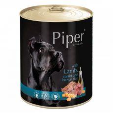 Piper Adult kutyakonzerv bárányhússal, sárgarépával és barna rizzsel 800 g