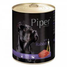 Piper Adult konzerv nyúlhússal 800 g