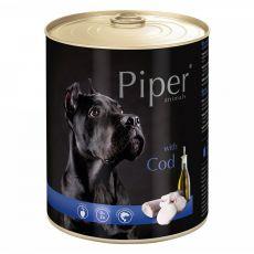 Piper Adult konzerv tőkehallal 800 g