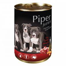 Piper Junior konzerv marhaszívvel és sárgarépával  400 g