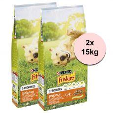 Purina FRISKIES Dog Balance 2 x 15kg