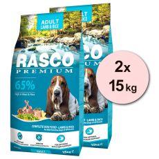 RASCO PREMIUM Adult Lamb & Rice 2 x 15 kg