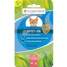 Bogaprotect SPOT-ON S, parazitaellenes cseppek macskák számára  3 x 0,7 ml