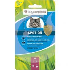 Bogaprotect SPOT-ON M, parazitaellenes cseppek macskák számára 3 x 1,2 ml