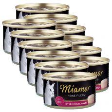 Miamor Filet konzerv csirke és sonka 12 x 100 g