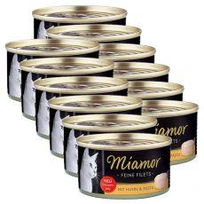 Miamor Filet konzerv csirke és tészta 12 x 100 g