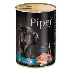 Piper Adult kutyakonzerv bárányhússal, sárgarépával és barna rizzsel 400 g