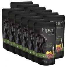Piper Adult alutasakos eledel vadhússal és sütőtökkel 12 x 150 g