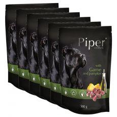 Piper Adult alutasakos eledel vadhússal és sütőtökkel 6 x 500 g